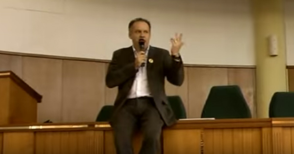 Andrej Kiska - prednáška pre študentov
